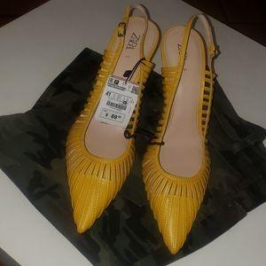 Zara Yellow Heel